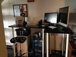 diy standing desk chair