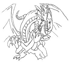 Small Picture Blue Eyes White Dragon Yu Gi Oh Coloring Pages Coloring Home