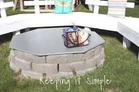 these diy fire pits are so awesome to make and the best part is you can make them how you want them check out this awesome fit pit that my pas built
