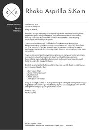 Cover Letter Examples By Real People Contoh Surat Pemasaran