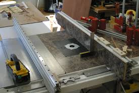 aluminum extrusion table saw fence in jeff s