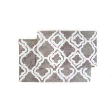 double quatrefoil lunar grey 2 ft x 3 ft 4 in 2