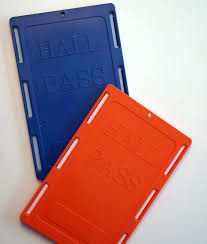 Hall Pass Holder Hall Passes