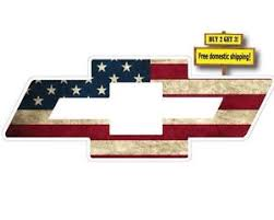 chevy logo with american flag. Brilliant American Image Is Loading CHEVYBOWTIESYMBOLLOGOWAMERICANFLAG For Chevy Logo With American Flag E