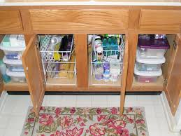 Under Kitchen Sink Storage Creative Ideas For Under Kitchen Sink Storage Frozed Glass Front