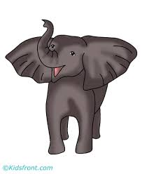 Baby Elephant Coloring Pages For Kids To Color And Print