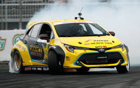 Toyota Corolla Hatchback drift car makes 1,000 hp!