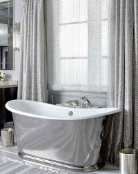 wonderful home interior impressive waterworks freestanding bathtubs in gray curtains transitional bathroom brandon barre photography