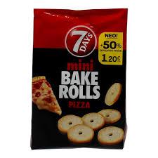 7 Days Bake Rolls Pizza 160g