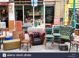 second hand used furniture for sale on brick lane tower hamlets london E5J1F1