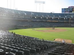 Ringcentral Coliseum Section 107 Oakland Athletics