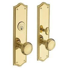 brass door carrollton il. baldwin barclay single cylinder mortise handleset trim set non-lacquered brass lock keyed entry door carrollton il