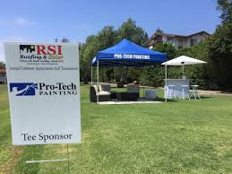 we are supporting rsi roofing at their golf tournament today beautiful day for golf and a great cause protechfun s t co xus68snqca