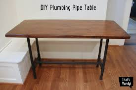 amazing diy pipe desk plans diy plumbing pipe table tutorial drk decor of diy pipe desk
