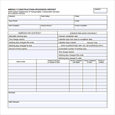 Project Progress Report Sample Free 25 Sample Weekly Report Templates In Docs Pdf Word