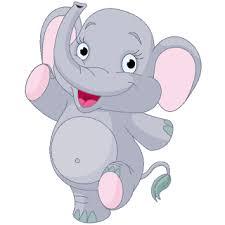 cute elephant clipart. Plain Clipart Baby Elephant Silhouette Clipart In Cute Clipart N