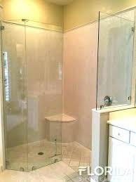 3 panel glass shower door appealing fixed glass shower door fixed shower door in satin fixed panel glass shower door 3 panel sliding glass shower door
