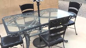 furniture refinishing metal patio style home design