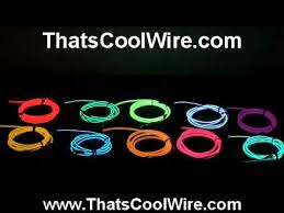 how do the 10 el wire colors really look how do the 10 el wire colors really look