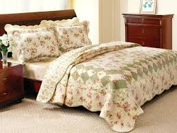 country quilt sets bliss ivory quilt set country patchwork bedding sets
