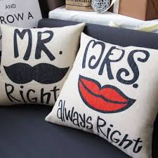 best gift ideas for indian wedding bride that will truly love What Is A Good Wedding Gift For Bride mr and mrs pillow for as good wedding gifts for indian bride and groom what is a good wedding gift for the bride from the groom