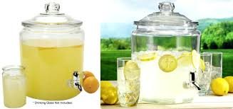 anchor hocking 2 gal heritage hill glass jar w plastic spigot reg only after promo code this same item is ing for target com great deals on high