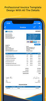 Moon Invoice Easy Invoicing On The App Store