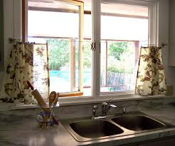 Kitchen Drapery Bay Window Kitchen Curtains