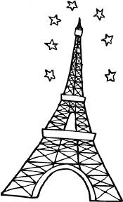 Small Picture Eiffel Tower Detailed Coloring Pages Coloring Coloring Pages