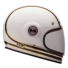 bell bullitt helmet carbon rsd mojo white gold motorbike