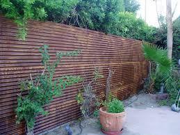 corten corrugated fencerustic exterior phoenix