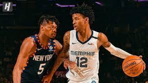 Memphis Grizzlies vs. Knicks at Madison ...