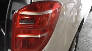 2008 Chevy Equinox Brake Light Replacement How To Remove A Chevy Equinox Tail Lamp And Bulb