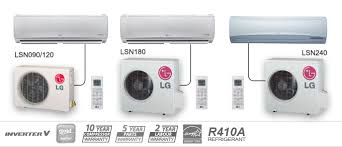lg mini split. example of lg hsv3 heat pumps lg mini split