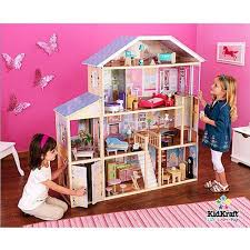 wooden barbie dollhouse furniture. Majestic Mansion Wooden Dollhouse With 33 Pieces Of Furniture By KidKraft -- Awesome Products Selected Anna Churchill Barbie Pinterest