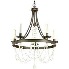 progress lighting 5 light chandelier antique bronze chandeliers compressed drum trinity brushed nickel s inspire chandelie
