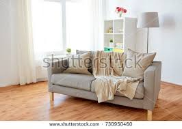 New Home Real Estate Moving Furniture Stock
