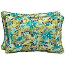 Hampton Bay Outdoor Pillows Outdoor Cushions The Home Depot
