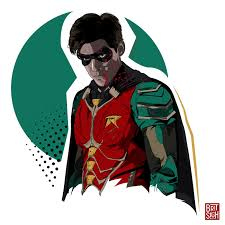 Dick Grayson from Titans DC Universe on Behance