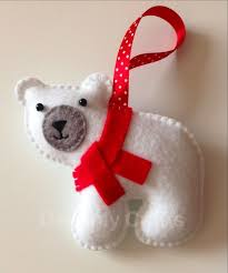 Craftideasinfo  Sew Felt Snowmen For ChristmasChristmas Felt Crafts