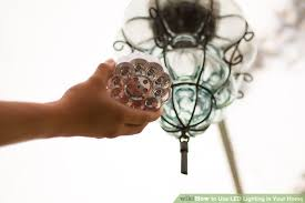 lighting for your home. brilliant your image titled use led lighting in your home step 1 throughout for m