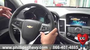 Phillips Chevrolet - 2014 Chevy Cruze - Interior Features ...