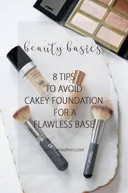 8 tips avoid cakey foundation