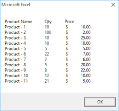Vbscript Msgbox Chart Numbers How To Use A Vba Message Box Msgbox Function In Excel
