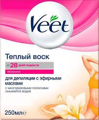 413 отзывов на Veet <b>Теплый воск для депиляции</b>, с эфирными ...