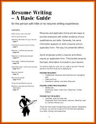 Effective Resumes Samples New Effective Resume Writing Elegant