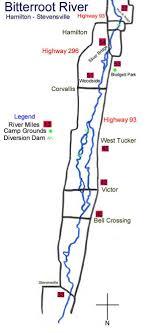 Bitterroot River Access Charts Bitterroot River Hatch Chart