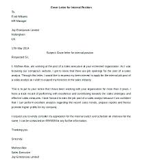 Applying For Internal Position Cover Letter For Internal Position Ideas Of Job Examples Marketing