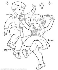 Small Picture Birthday Dance Coloring Page Kids Birthday Party Dance Coloring