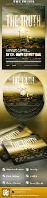 the truth church flyer and cd template by loswl graphicriver the truth church flyer and cd template church flyers